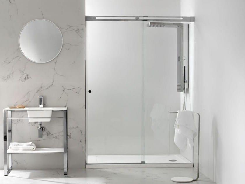 Rectangular glass shower cabin SILKE 9 by Systempool