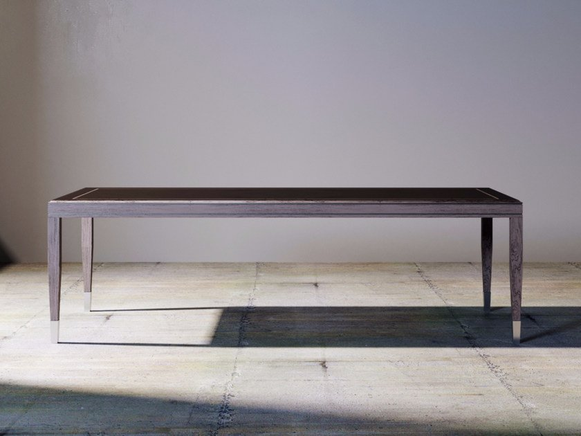 Rectangular wooden dining table SILVER LINE | Table by ITALIANELEMENTS