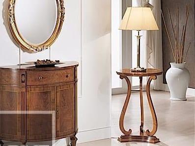 Tavolino rotondo in legno massello SILVIO by Arvestyle