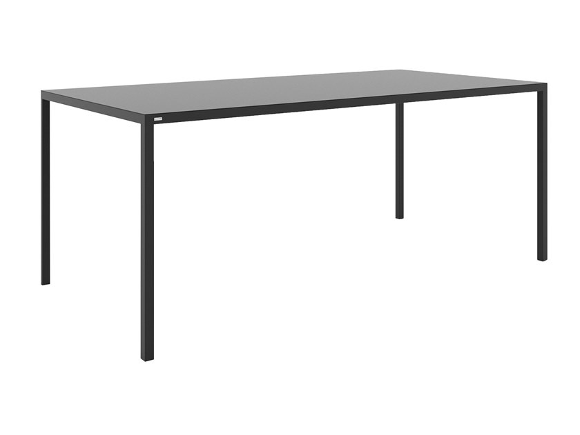 Rectangular powder coated steel table SIMPLICO by take me HOME