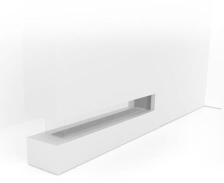 SINATRA 2400 | Caminetto a tripla facciata