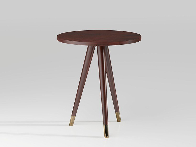 Wooden high side table SINGAPORE by Emotional Projects
