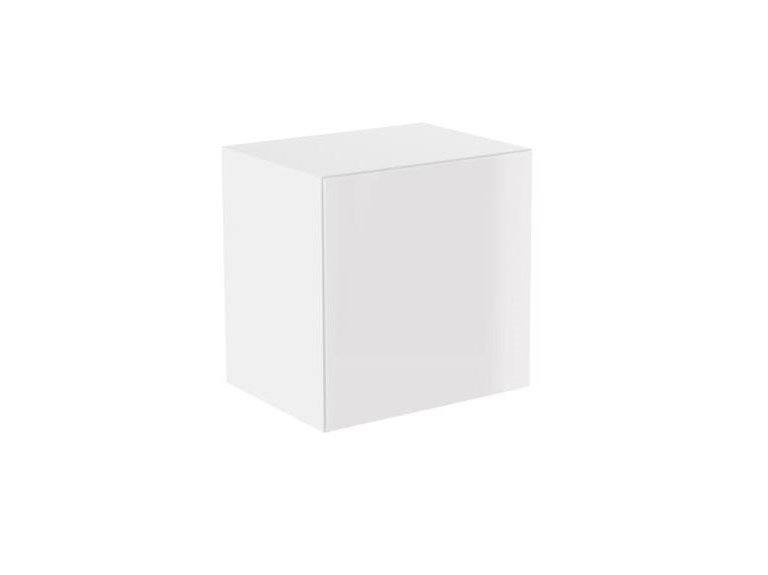 Suspended MDF bathroom wall cabinet with doors SYSTEM M40 | Single bathroom wall cabinet by HEWI