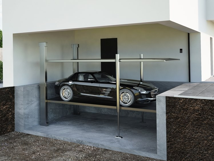 Automatic parking systems SINGLE PLATFORM by Modulo Parking