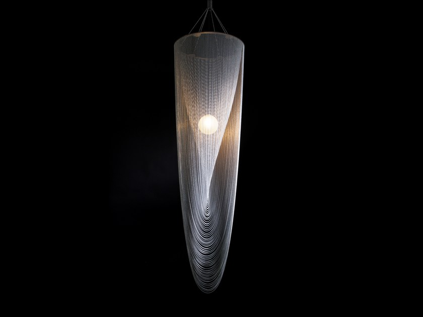 Pendant lamp SINGLE SPIRAL by Willowlamp