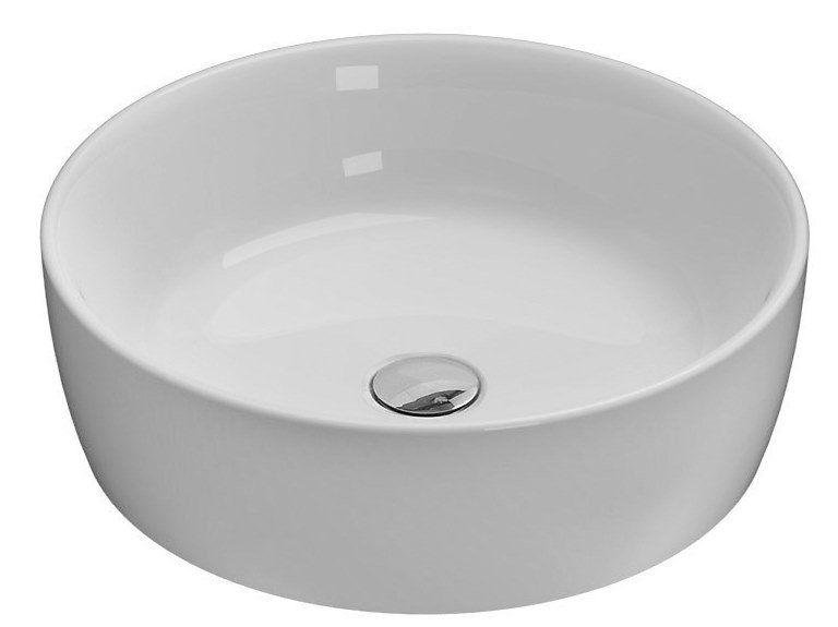 Ceramica Globo Serie Stone.Genesis Single Washbasin Genesis Collection By Ceramica Globo