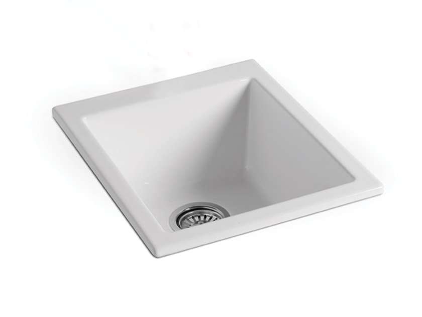Lavello a una vasca in ceramica STOVE | Lavello by BLEU PROVENCE