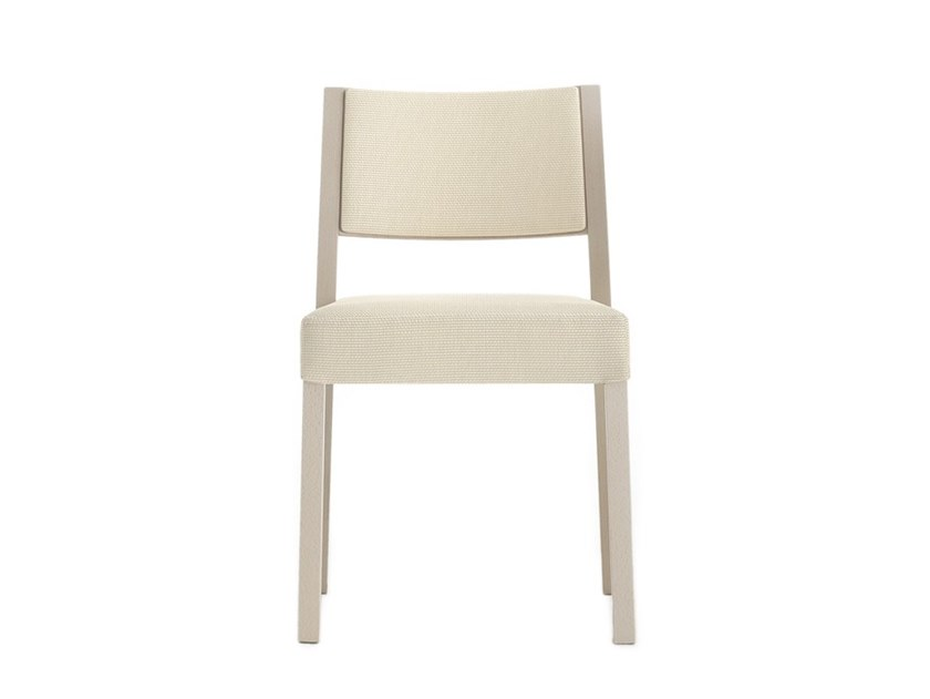 Upholstered chair SINTESI 01514 by Montbel