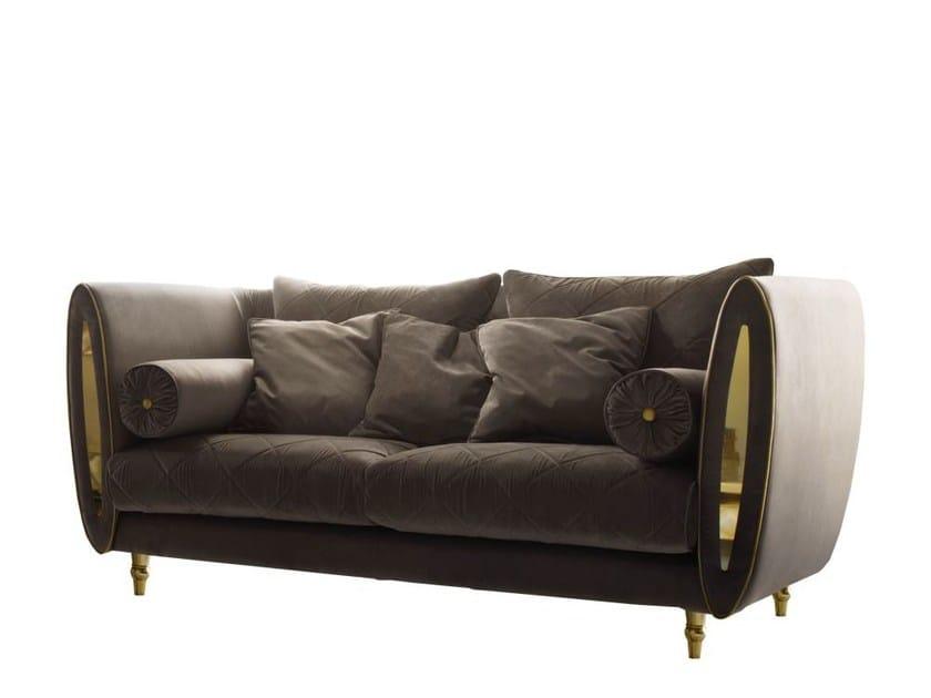 Divano in tessuto a 2 posti sipario divano a 2 posti adora