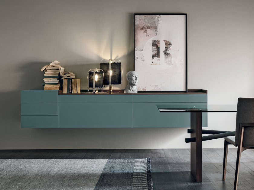 Lacquered suspended sideboard SIR | Suspended sideboard by Gruppo Tomasella