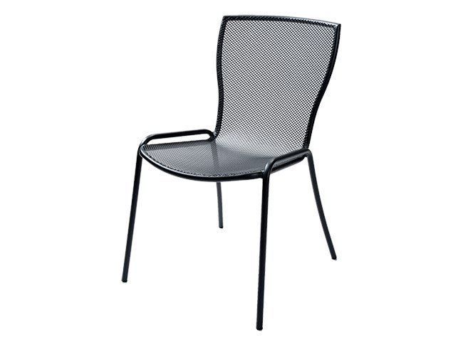 Stackable galvanized steel chair SYRENE 1 by RD Italia