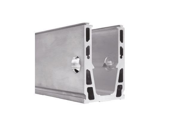 Aluminium staircase Component SIRIO H by Nuova Oxidal