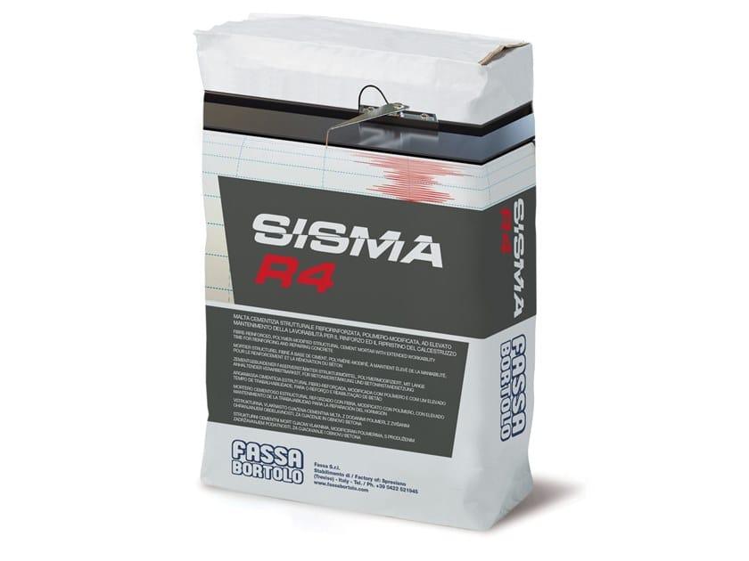 Fibre reinforced mortar SISMA R4 by FASSA