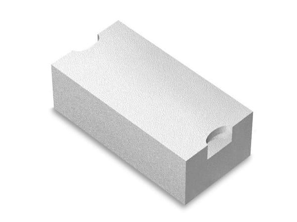 Lightweight concrete block for external wall SISMICO by Xella Italia - YTONG
