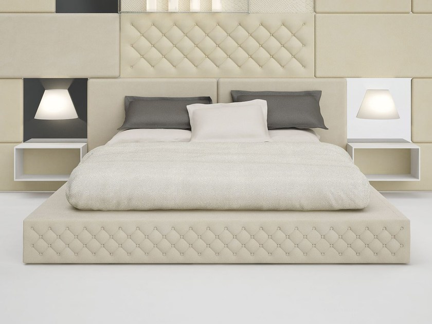 Polyester double bed SISSI by Paolo Castelli