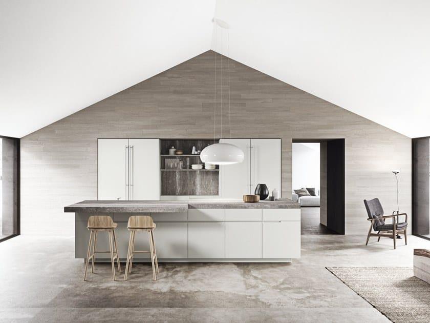 Cucina laccata con isola SISTEMA 22.2 - AMBIENTE 05 by Alta Cucine