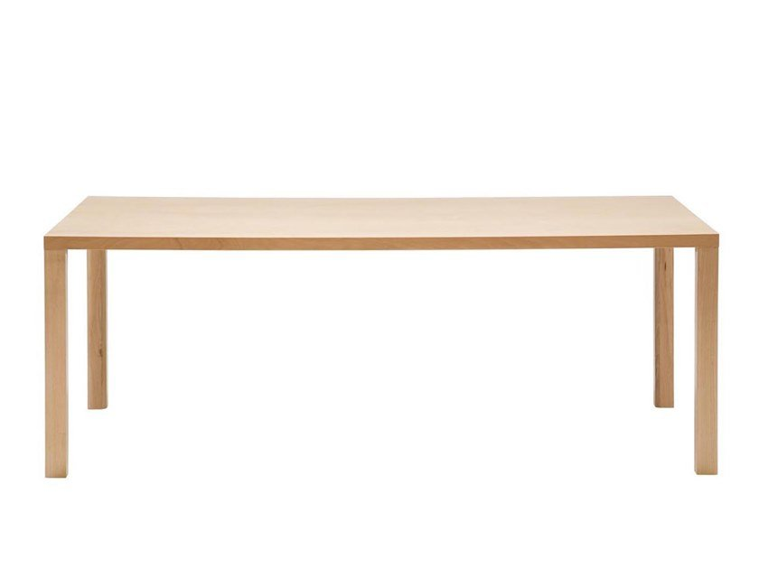 Gamba per tavoli in faggio SISTEMA SP BM7215 by Andreu World