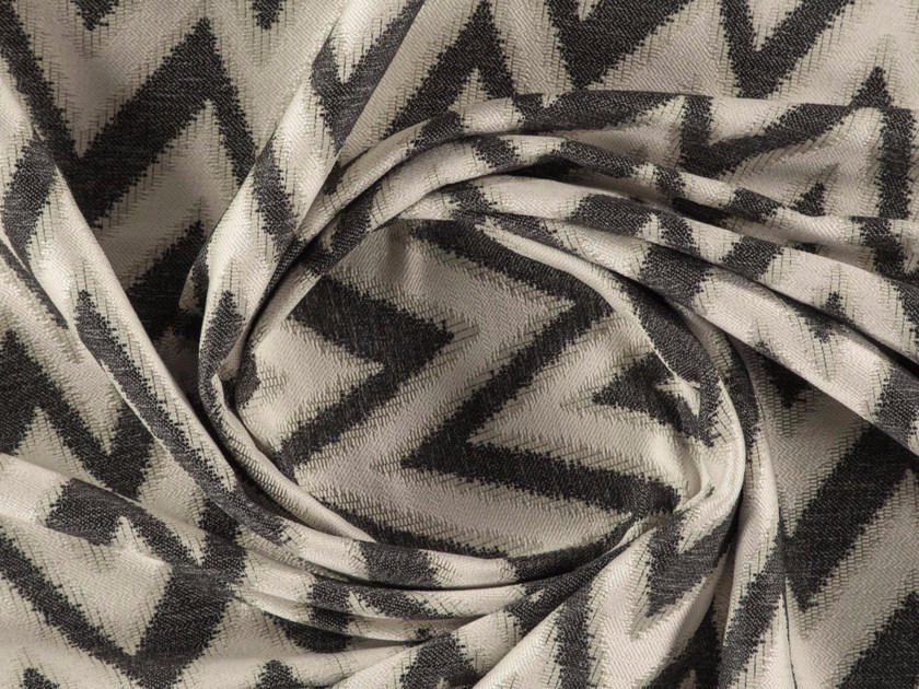 Jacquard washable polyester fabric AREZZO by More Fabrics
