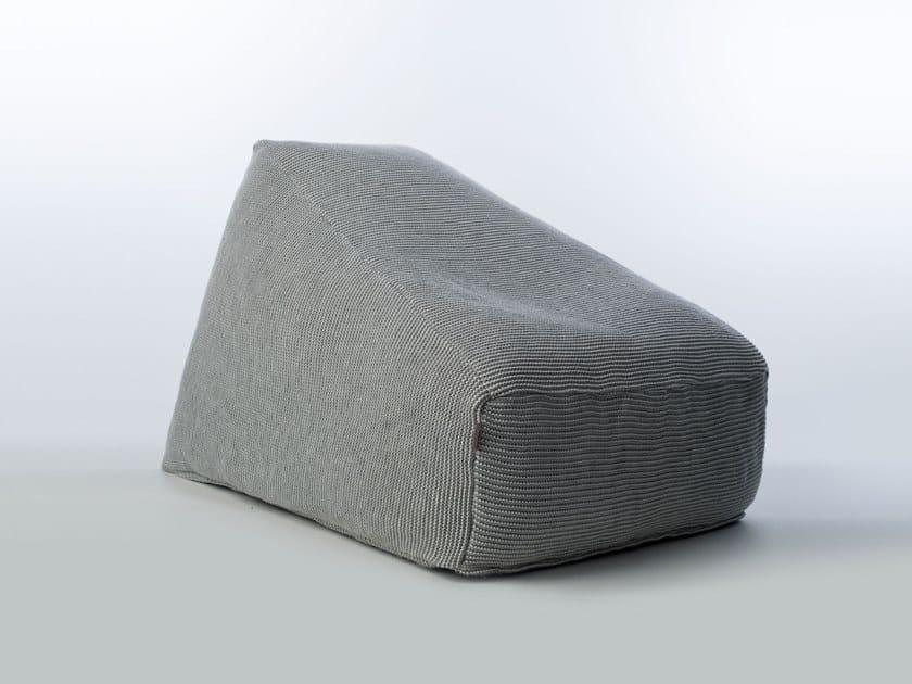Garden bean bag SITE SOFT CHECKS | Garden armchair by Warli