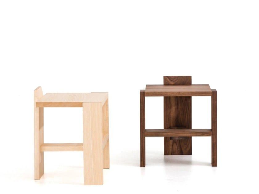 Sgabello da bagno in legno massello sgabello in legno con