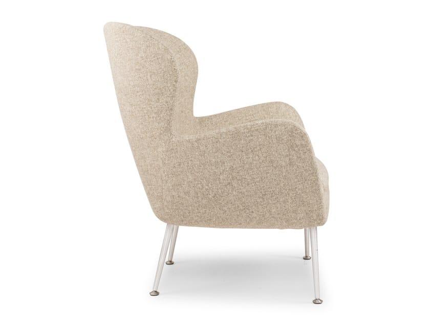 Armchair with armrests SIXTY METAL by Riccardo Rivoli