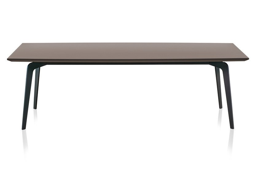 Rectangular wooden table SIXTY | Table by Papadatos