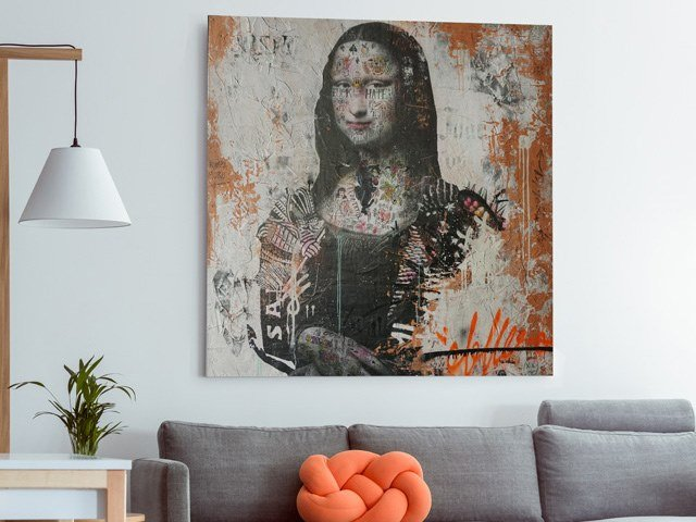 Author made artistic print SK-006 by MOMENTI