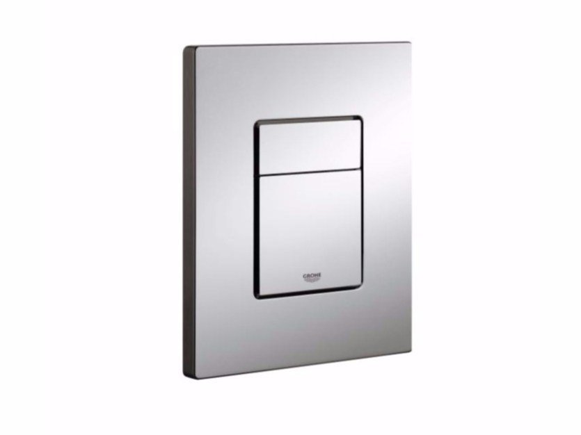 Chrome-plated flush plate SKATE COSMOPOLITAN | Flush plate by Grohe