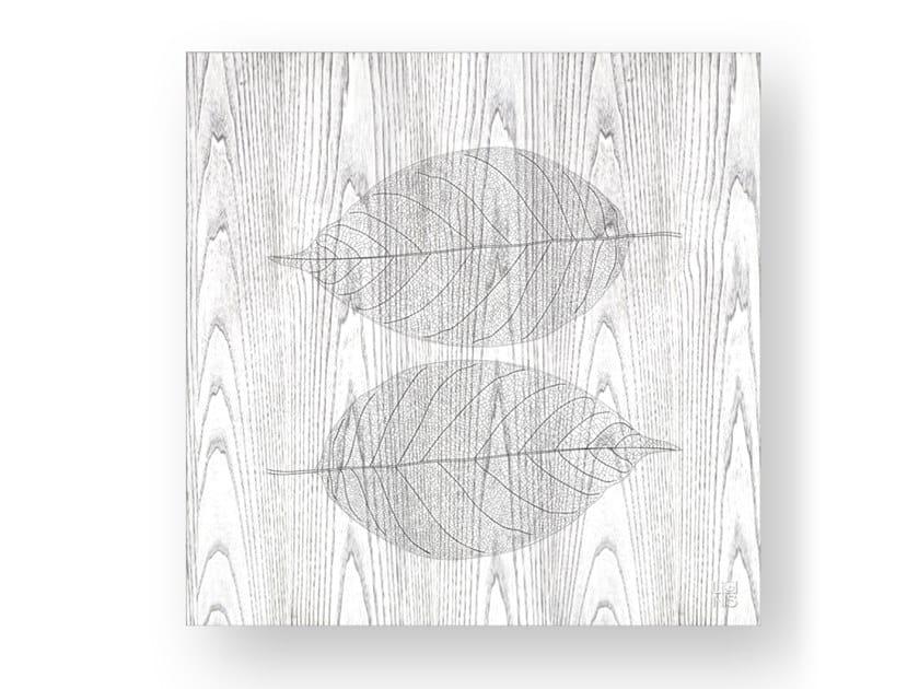 Quadro in legno intarsiato o stuccato SKELETON COLD by LIGNIS®