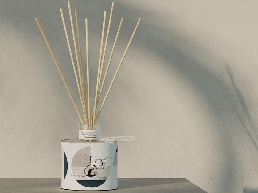 Natural stone Air freshener dispenser SKETCH Prestige - Uva e Mirtilli by IWISHYOU