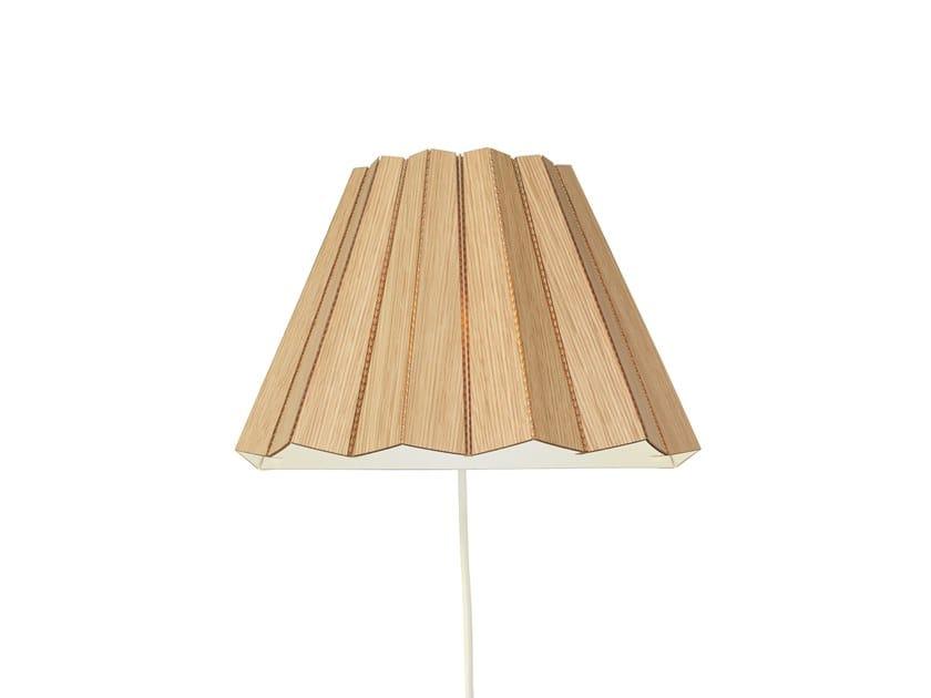 Wood veneer wall light SKIRT | Wood veneer wall lamp by Arkki by Lovi