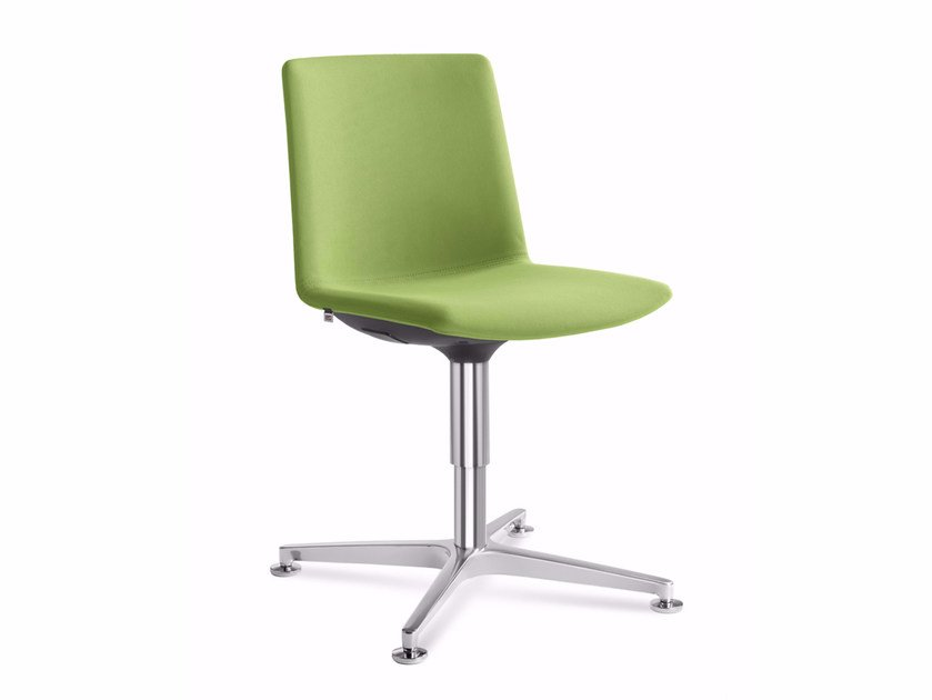 Upholstered chair with 4-spoke base SKY FRESH 055 F60-N6 by LD Seating