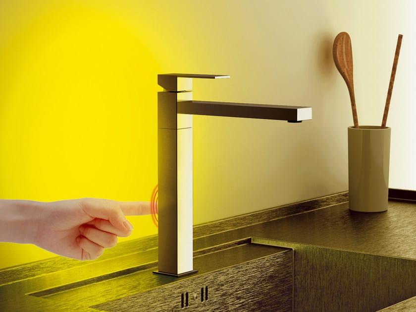 Countertop kitchen mixer tap with swivel spout SKYLINE AMBIENT | Kitchen mixer tap with swivel spout by Daniel Rubinetterie
