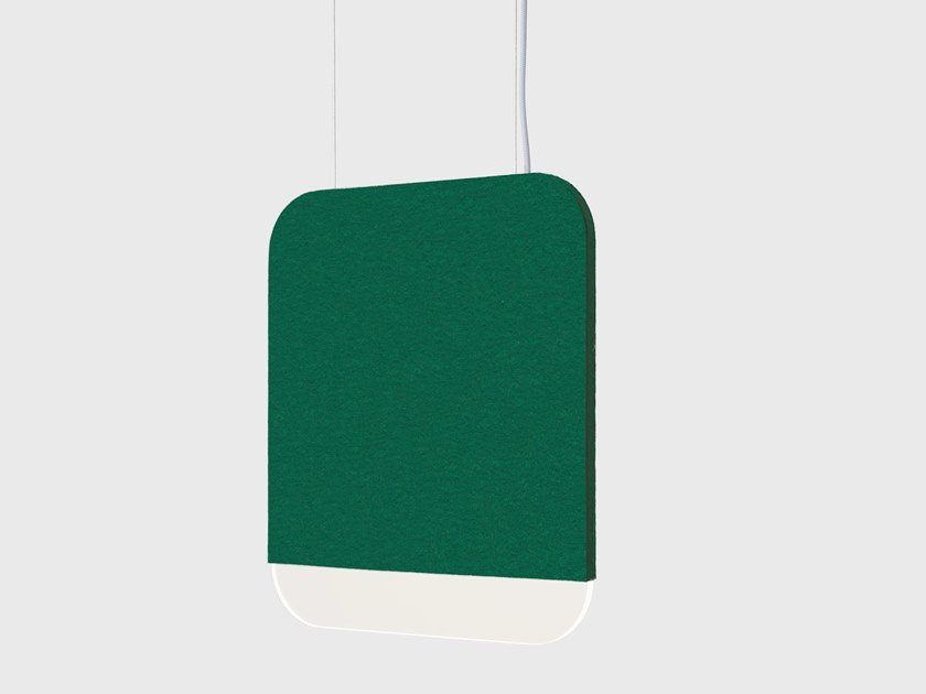 LED felt pendant lamp SLAB 30 by ANDlight