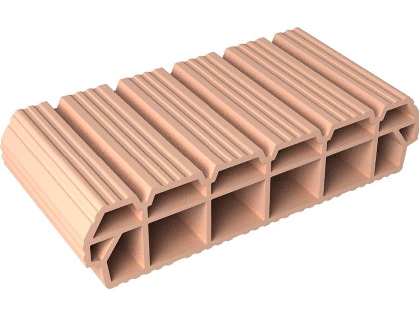 Slab clay block Slab Clay block 12x52x25 by Fornaci DCB
