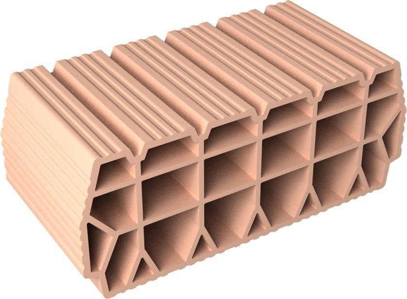 Slab clay block Slab Clay block 20x52x25 by Fornaci DCB