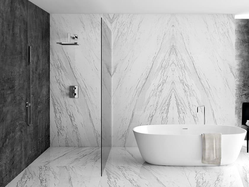 Revestimiento de pared/suelo efecto mármol SLABS - ELEGANCE by APAVISA
