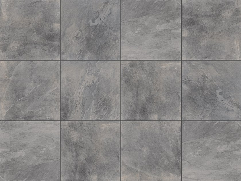 Vehicular outdoor floor tiles with stone effect SLATE 3 CM by GRANULATI ZANDOBBIO