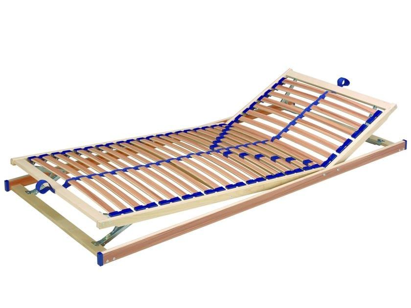 Slatted adjustable bed base Adjustable bed base by Müller Möbelwerkstätten