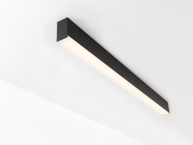 Ceiling mounted Linear lighting profile for LED modules SLD50 | Ceiling mounted Linear lighting profile by Modular Lighting Instruments