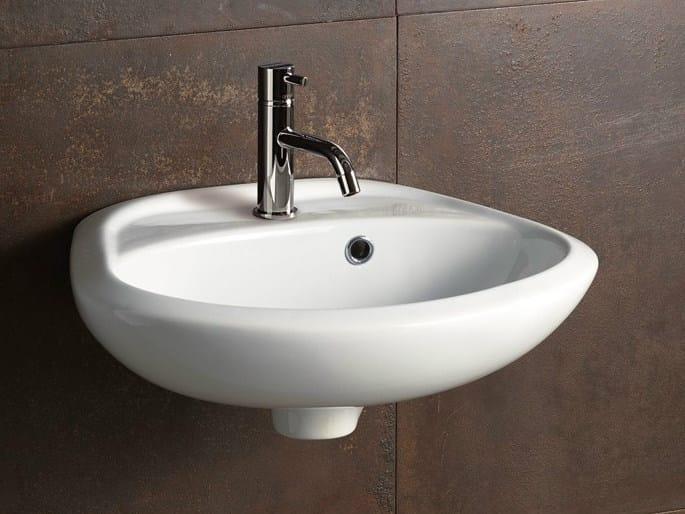 Ceramic washbasin SLEEPY 45 by Alice Ceramica