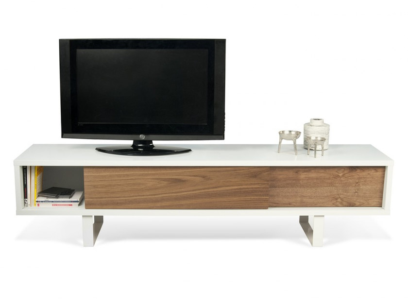 Tv Cabinet With Sliding Doors Slide By Temahome