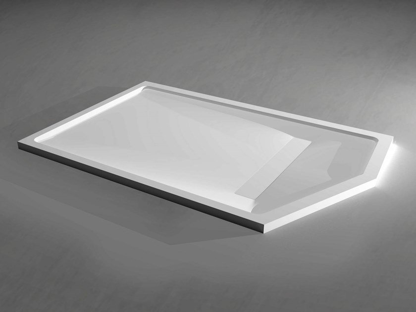 Solid Surface shower tray SLIM CUSTOM by RELAX
