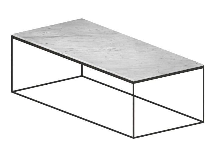 Slim Marble Rectangular Coffee Table Slim Marble Collection By Zeus Design Maurizio Peregalli