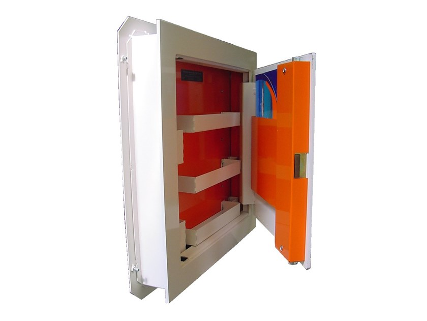 Wall-mounted safes SLIM by Parma Antonio & Figli