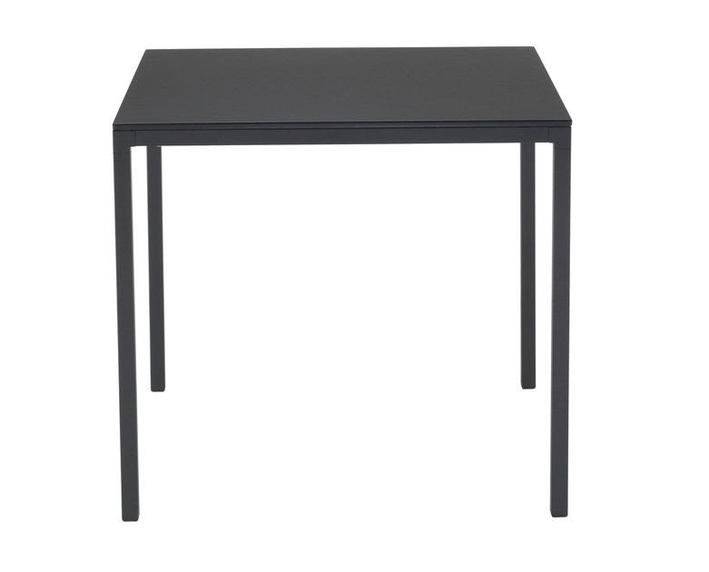 Square garden table SLIM | Square table by Papatya
