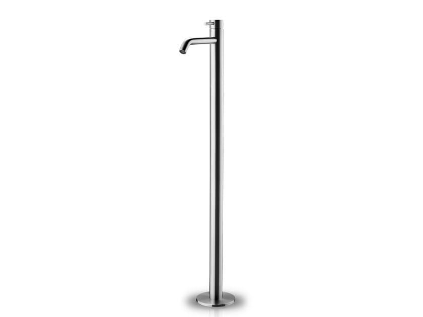 Floor standing stainless steel washbasin mixer SLIMLINE BASIN MIXER FLOOR by JEE-O