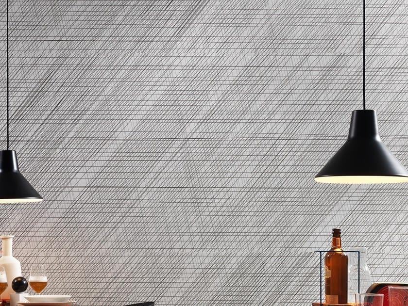 Laminated stoneware wall tiles / flooring SLIMTECH NAIVE BLACK by LEA CERAMICHE