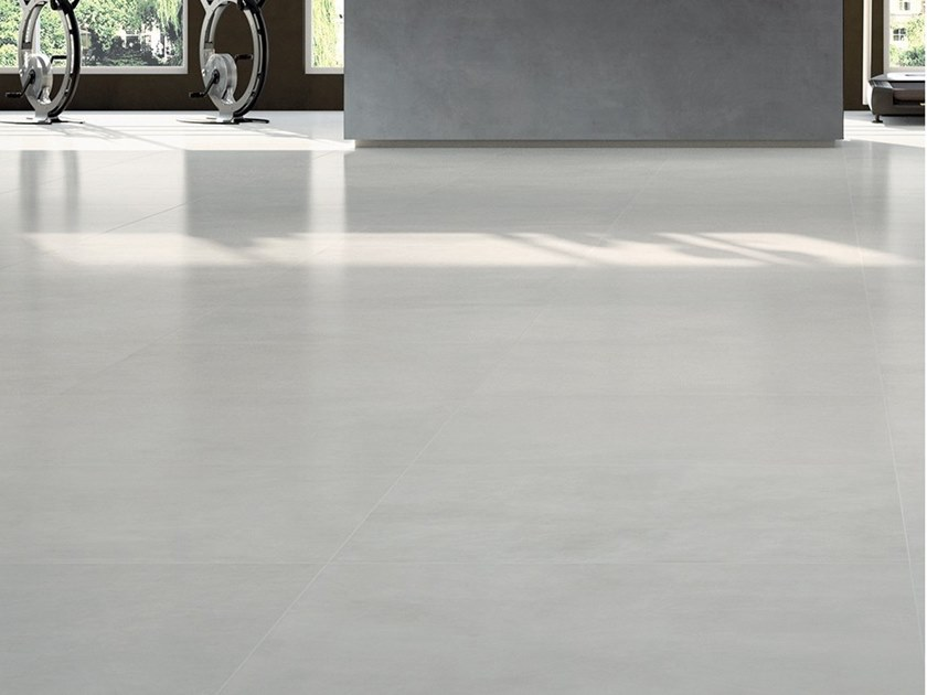 Laminated stoneware wall/floor tiles with resin effect SLIMTECH RE-EVOLUTION SRC010 by LEA CERAMICHE