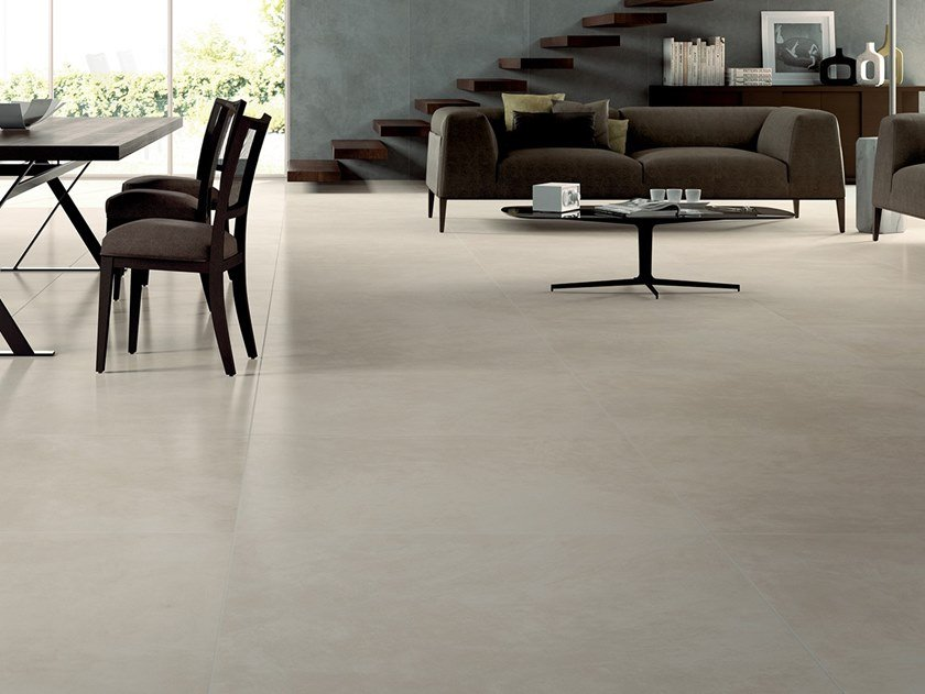 Laminated stoneware wall/floor tiles with resin effect SLIMTECH RE-EVOLUTION SRC020 by LEA CERAMICHE